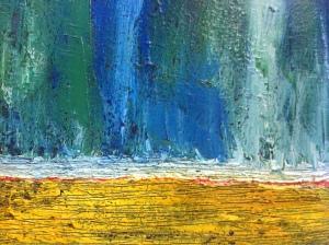 Paix - huile 20''x 24'' Collection privée