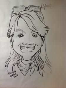 lynnda caricature 2012