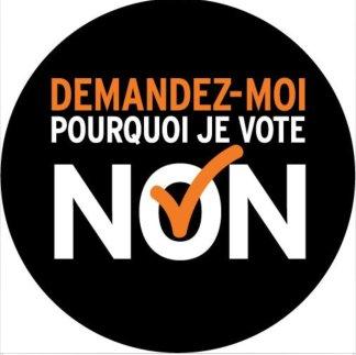 non je vote